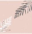 tropical worn floral pastel pink blush pattern vector image