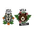 wild animal prints for t shirt