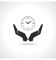 Save time concept vector image