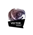 Abstract digital watercolor ink virtual technology vector image