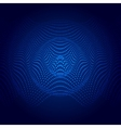 Abstract of sound wave vector image vector image