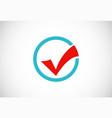 check list survey icon logo vector image vector image