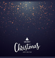 christmas lights bokeh background with party vector image