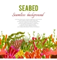 Coral Seabed Background vector image