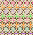 Ethnic tribal geometric seamless pattern vector image vector image