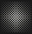geometric halftone seamless pattern with circles vector image vector image