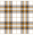 gold black and white tartan plaid scottish pattern vector image vector image