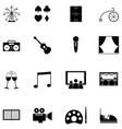 lifestyle icon set vector image vector image