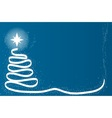 Scrible Christmas Tree vector image vector image