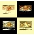 Spa themed logo set vector image