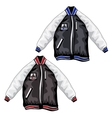 Sports jackets for teenagers clothing vector image