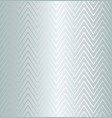 trendy simple seamless zig zag silver geometric vector image vector image