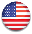 america flag vector image vector image