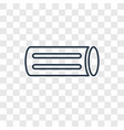 chalk concept linear icon isolated on transparent vector image