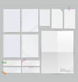 group paper background vector image