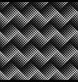 seamless monochrome geometrical dot pattern vector image vector image