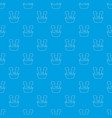 washing in the basin pattern seamless blue vector image vector image