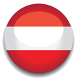 austria flag vector image vector image