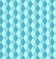 Blue rhombus seamless retro pattern vector image vector image