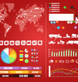 Cargo infographics vector image vector image
