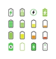 Cell phone smartphone electric charge battery vector image