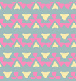 ethnic pattern aztec geometric background vector image