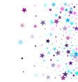 geometric starlight banner vector image vector image