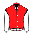 sport jacket icon icon cartoon vector image vector image