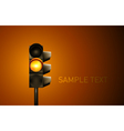 Traffic Lamp vector image vector image