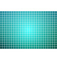 turquoise shades square mosaic background over vector image vector image