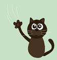 Angry cat cartoon