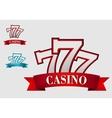 Casino gambling symbol vector image vector image