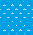 clothes button round pattern seamless blue vector image vector image