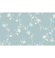Light floral vintage seamless pattern vector image vector image
