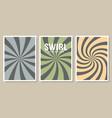 abstract sunburst design wallpaper cartoon vector image