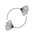 black frame with ginkgo biloba leaves in trendy vector image vector image