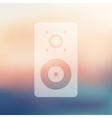 dynamic icon on blurred background vector image vector image