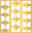 gold foil butterfly seamless pattern vector image vector image