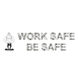 Health and Safety Banner vector image vector image