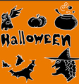 Icon for Halloween Party Night vector image vector image