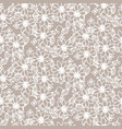 prairie florals beige light colors seamless vector image vector image