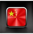 Simple flat icon China flag Premium basic design vector image vector image