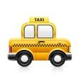 taxi car vector image vector image