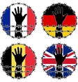 violation of human rights in european countries vector image