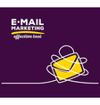 yellow color envelope with white wire and vector image