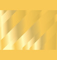 abstract oblique bright gold background vector image