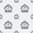 business team icon sign Seamless pattern with vector image vector image