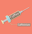 Caffeinism2 vector image vector image