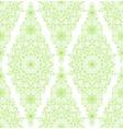 Decorative floral mandala seamless pattern vector image