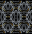 dotted seamless pattern abstract vintage vector image